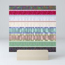 scrapbook scrap elements Mini Art Print