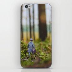 In Search of Bigfoot (Ode to Thoreau) iPhone & iPod Skin
