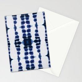 Boho Tie-Dye Knit Vertical Stationery Cards