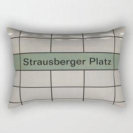 Strausberger Platz - Berlin Rectangular Pillow