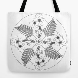 New Zealand Flora Tote Bag