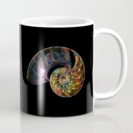 Fossilized Nautilus Shell Coffee Mug