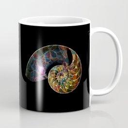 Fossilized Nautilus Shell Coffee Mug