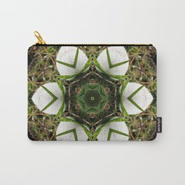 Kaleidoscope of puffball fungus Carry-All Pouch