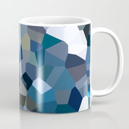 Sky Blue Moon Mountain Dreams Coffee Mug