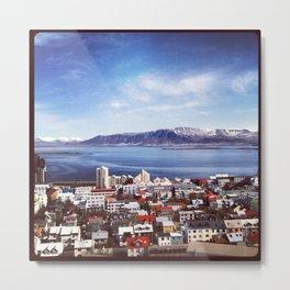 Reykjavik, Iceland Metal Print