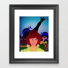 TMNT ~ Family Values Framed Art Print