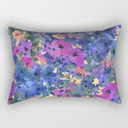 French Red Violet Rectangular Pillow