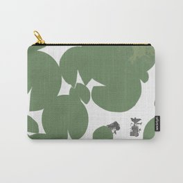 Summer fish pond with lily pads Carry-All Pouch