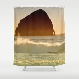 CAPE KIWANDA - OREGON - PACIFIC COAST Shower Curtain