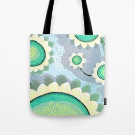 Spin Sunflower Tote Bag