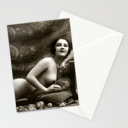 Vintage Nude Art Beauty No.101 of 250, from the Vintage Nude Arts Collection. Stationery Cards