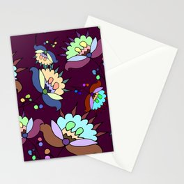 Floral Pattern #3 Stationery Cards