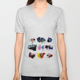 9 abstract rituals (2) Unisex V-Neck