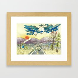 Where Are You Going? Framed Art Print