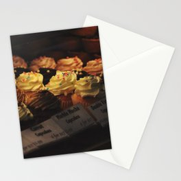 variety of cupcakes Stationery Cards