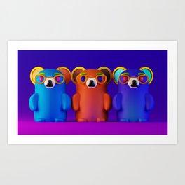 Smarties Art Print