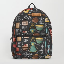 Bake Love Pattern Backpack