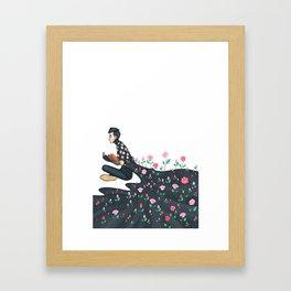 Flowering Tyler Framed Art Print