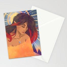 Klimt Inspired Kiara Stationery Cards