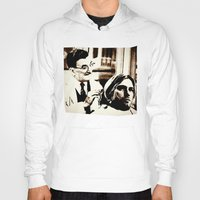 floyd Hoodies featuring Kurt & Floyd  |  Grunge Collage by Silvio Ledbetter
