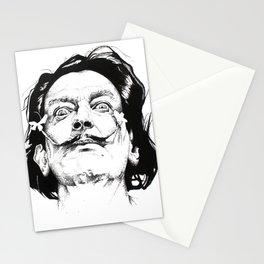 Salvador Dali Portrait Stationery Cards