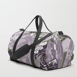Succulents Art Duffle Bag