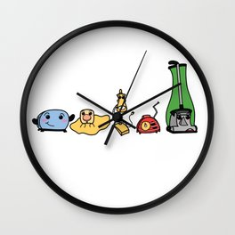The Gang's All Here! Wall Clock