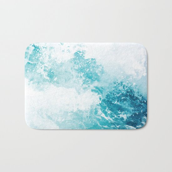 Water Water #society6 #decor #buyart Bath Mat