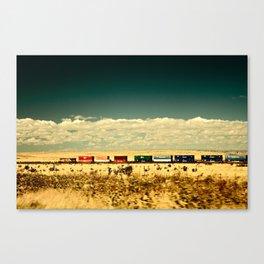 Box Cars Canvas Print