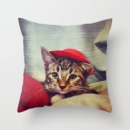 Axel the Liger Throw Pillow