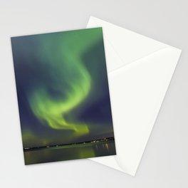 Northern Lights. Aurora borealis Stationery Cards