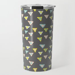 Freshtastic Triangles Illustration Travel Mug