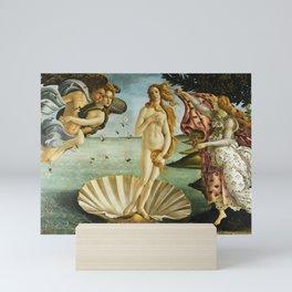 "Sandro Botticelli ""The Birth of Venus"" Mini Art Print"