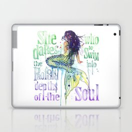 Mermaid : Profound Depths Laptop & iPad Skin