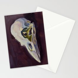 No. 31 Crow Skull Stationery Cards