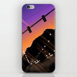 just wait peacefully  iPhone Skin
