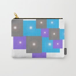 Shinning Rectangles Pattern Carry-All Pouch