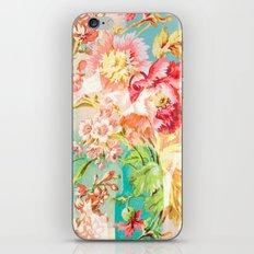hide and seek floral iPhone Skin