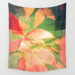 Autumn Colour Field Wall Tapestry