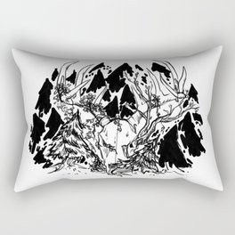 old gods forest Rectangular Pillow