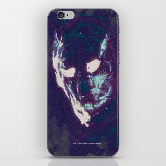 Mister Mist iPhone Skin