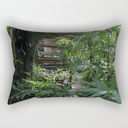 The Orchid Station Rectangular Pillow