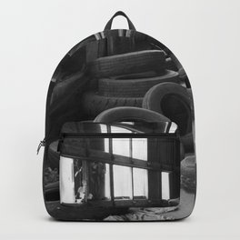 Tire Graveyard Backpack
