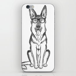 German Shepherd Dog iPhone Skin