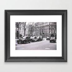 Look Left Framed Art Print