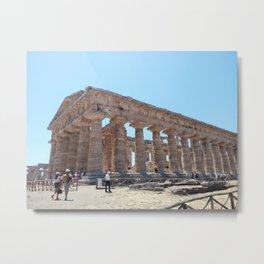 Historic museum Italy Paestum Metal Print