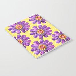 Sunburst on Yellow Notebook
