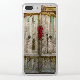 Old Ristra Door Clear iPhone Case