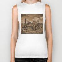 jem Biker Tanks featuring Vintage Jem General Purpose Engine by Avril Harris